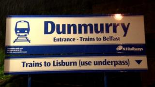Dunmurry station