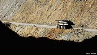 Coal truck in Muswellbrook