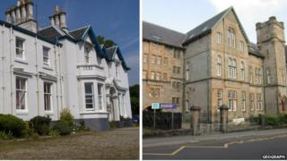 Dunclutha House and Dunoon Primary School are both to benefit from the funding