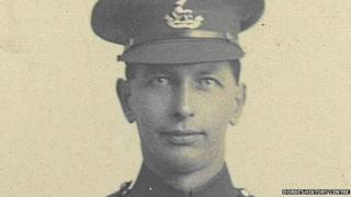Regimental Sergeant Major George Beck