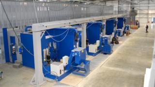 Inside the Cosworth unit at Northampton Waterside Enterprise Zone