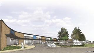 Proposed retail park at Fort William