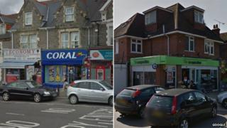 Coral bookmakers in Whitley Street and Co-op store in Wokingham Road