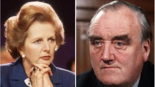 Margaret Thatcher and William Whitelaw