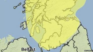 Met Office map for 26/12/14