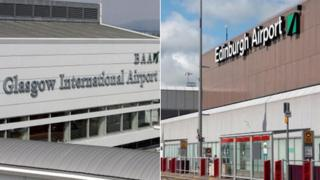 Glasgow and Edinburgh Airports