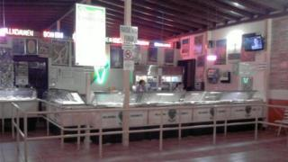 Inside shot of Coromoto ice-cream store, Merida, 1 November 2010 (from its Facebook page)