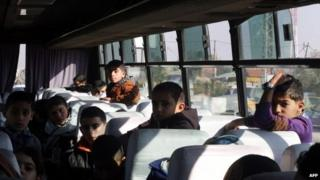 Gaza children blocked from entering Israel by Hamas, 28 December 2014