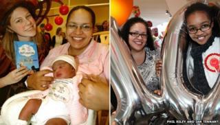 Alison Fuller and daughter Amaya