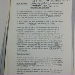 Oliver Letwin's memo released by the National Archives