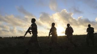 Somalia's army, file pic