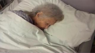 Elsie Keirl, Musgrove Park Hospital stroke patient