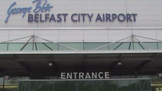 Belfast City Airport entrance