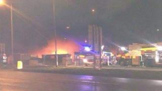 Corby multi-storey car park fire