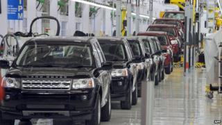 India Land Rover manufacturing facility at Pimpri in Maharashtra