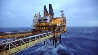 BP Eastern Trough Area Project (ETAP) oil platform in the North Sea