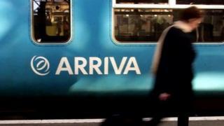 Trên Arriva Cymru