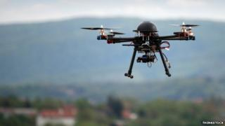 Small Unmanned Aircraft, or drone. Pic: Thinkstock