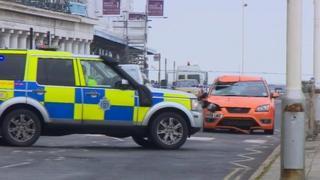 Crash in St Leonards