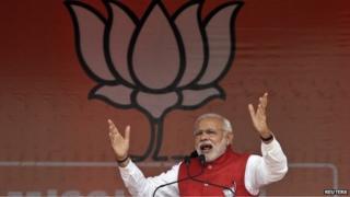 Indian Prime Minister Narendra Modi on December 13, 2014