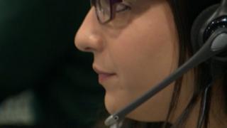 A WMAS call operator