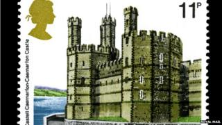 Caernarfon Castle stamp