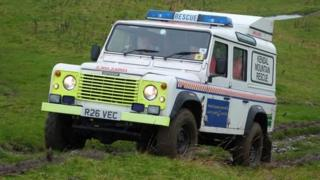 Kendal Mountain Search and Rescue team
