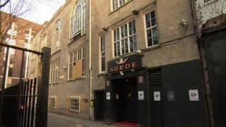 Suede nightclub in Longworth Street near Deansgate