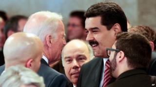 Biden and Maduro, 2 Jan