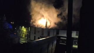 Fire on Monk Street