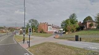 Junction of Mercian Way and Gerard Street, Derby