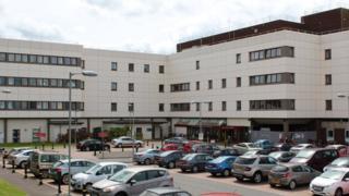 Dumfries hospital