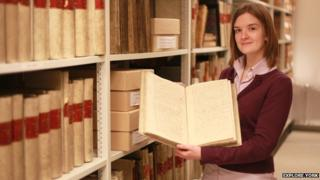 Justine Winstanley-Brown archivist