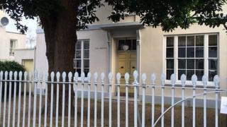 Former home of John and Herbert Le Patourel