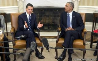 President Enrique Pena Nieto and President Barack Obama