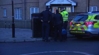Homerton murder scene