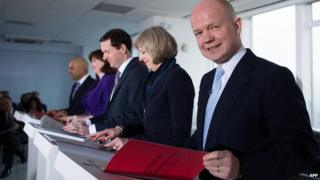 Ministers unveil their dossier