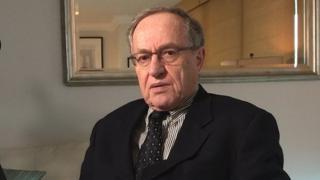 Lawyer Alan Dershowitz.