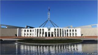 Parliament House, Canberra (file image)
