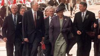 scottish parliament opening 1999