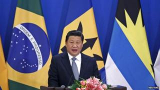 President Xi Jinping has pledged to boost trade ties with Latin America