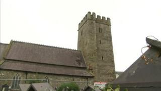 Llandysul church