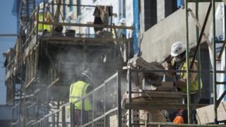 Construction workers in Virginia US