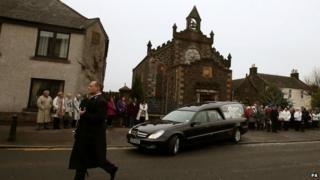 Chirashi funeral