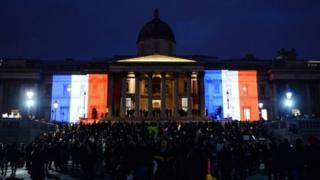 National Gallery illuminated