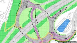 Milton roundabout