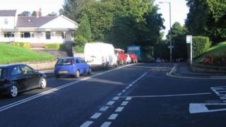 Traffic congestion in Morpeth