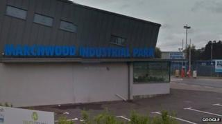Marchwood Industrial park