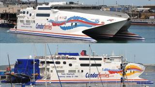 Condor Express (top) and Condor Vitesse