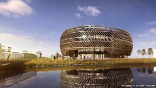 New University of Nottingham building